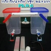 Mesin pembuat air alkali mirip Milagros