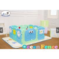 Baby Playpen Labeille OCEAN FANCE - pagar anak - pagar bayi