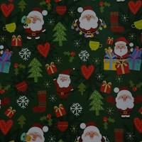 "Kertas Kado Sansan Wawa SW 5449 Natal/Christmas/Santa Claus"""