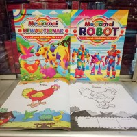 Buku Anak, buku belajar Mewarnai ukuran besar