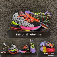 sepatu basket nike lebron 17 what the lebron grade original