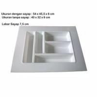 Rak Sekat Laci Besar Modeline Untuk Alat Kantor Dan Sendok Garpu Dapur