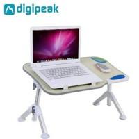 Meja Laptop - Laptop Table - Laptop Alumunium - Meja Laptop Kayu - X70