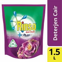 Rinso Molto Perfume Essence Deterjen Cair 1500 ml