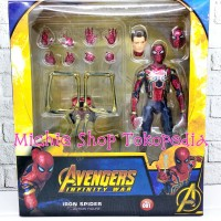Figure Iron Spider Mafex 081 Avengers Infinity War Spider Man