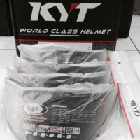 kaca helm KYT ENDURO DARK VISOR limited edition. original