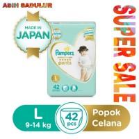 Pampers Popok Premium Care Pants L42 Murah Diskon Promo Bandung Gosend