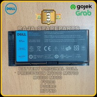 Baterai Original Laptop Dell Precision M4600 M4700 M4800 M6600