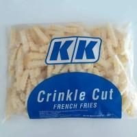 KK Crincle Cut Kentang Goreng Beku 22mm 1KG / French Fries