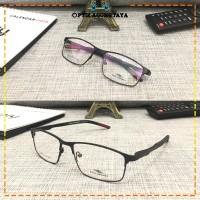(GRATIS LENSA) Frame Kacamata Minus Baca Pria Rudy ML259 High Quality