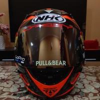 Helm NHK GP1000 Visor Spoiler pinlock