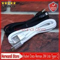 Kabel Data Remax 2M Samsung Asus Xiaomi Original Fast Usb Type C
