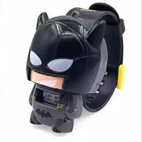 Jam Tangan Anak Murah - Jam Tangan Anak Karakter Robot Superhero Lucu - Batman