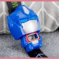 Jam Tangan Anak Murah - Jam Tangan Anak Karakter Robot Superhero Lucu