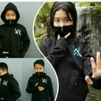 jaket sweater anak laki laki / perempuan hoodie alan walker Ninja