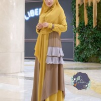 ameera dress syari by aletha (ready)