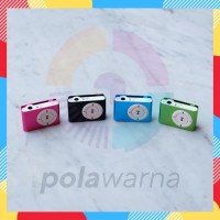 Mp3 Player Jepit - Music Player Micro SD - Mp3 Besi Shuffle + Box