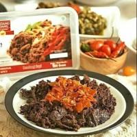 (TERENAK) Rendang Suir Daging Sapi / Ayam Restu Mande 200+200 gr