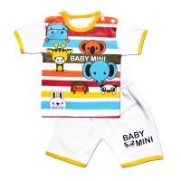 WakaKids Baju Anak Laki Laki Tangan Pendek Kaos Bear 2782