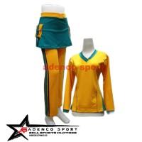 Stelan Olahraga Wanita / Stelan Senam / Baju Olahraga Muslim