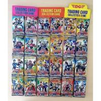 Kartu/ Trading Card Game Ultraman 1 Pack isi 10 Kartu Merek DG