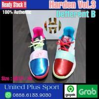 Adidas Harden Vol.3 Color Different B Size 46 Authentic Original - DIFFERENT B, 46