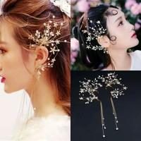 AR059 earcuff rambut wedding accesories pesta headpiece