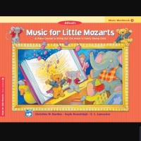Buku Music Workbook 1 Music for Little Mozarts Alfred