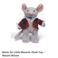 Boneka Plush Toy Mozart Mouse Music for Little Mozarts Alfred