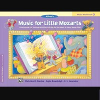 Buku Music Workbook 4 Music for Little Mozarts Alfred