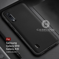 Case For Samsung Galaxy A10 M10 Protection Anti Slip TPU - Hitam