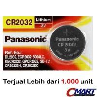 Panasonic CR2032 3 Volt Coin Lithium Cell Baterai Battery - PSC-CR2032