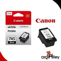 Catridge Canon 745 Pixma Black Inkjet PG-745 Tinta Original Canon 745
