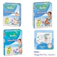 Pampers Renang|Popok|Celana|Berenang|Splashers Swim Diapers - Uk S 6-11 KG