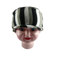 Topi Kupluk Anak Laki Laki / Perempuan Topi Pet Anak Garis Warna