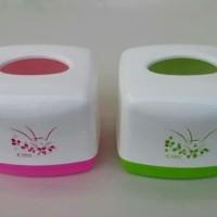 Tempat Tissue Trixy   Tempat Tissue Kotak Segi   Tempat Tissue Kecil