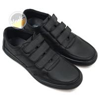 Sepatu Pria Snekers Sepatu Casual Pria Kulit Asli Triple Strap M704