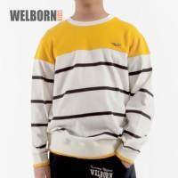 Welborn Kids Sweater Kuning Putih Anak Laki