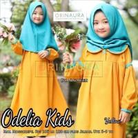 Terhot Baju Gamis Anak Terbaru Odelia Kids Syari Original Naura Plus