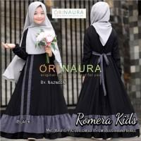 Paling Murah Baju Gamis Anak Terbaru Romera Kids Syari Original Naura