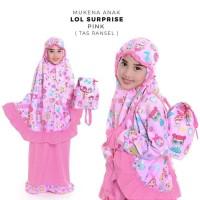 Terbaru Mukena Anak Lol Suprise Pink (Tas Ransel) Xl Paling Murah