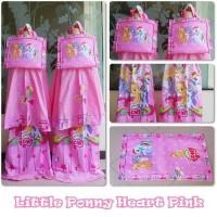 Terpopuler Mukena Anak Little Ponny Heart Pink/Mukena Anak/Mukena