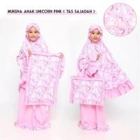 Terpopuler Mukena Anak Unicorn Pink Sajadah Size M Terbaru