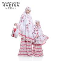 Terhot Mukena Couple Bali Nadira (Ibu Dan Anak) - Biru Terlaris