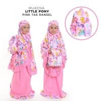 Paling Murah Mukena Anak Little Pony Pink M (Tas Ransel) Terhot