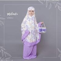 Terlaris Mukena Rayon Bali Melinda Untuk Anak Sd - Merah Salem