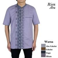 Baju Koko Rien Abu 5 Pilihan Warna