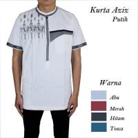 Baju Koko Kurta Putih 5 Pilihan Warna