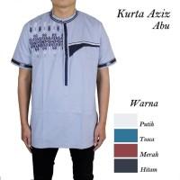 Baju Koko Kurta Aziz Abu 5 Pilihan Warna
