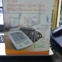 tensimeter digital Dr Care HL 888 alat cek tekanan darah dan jantung